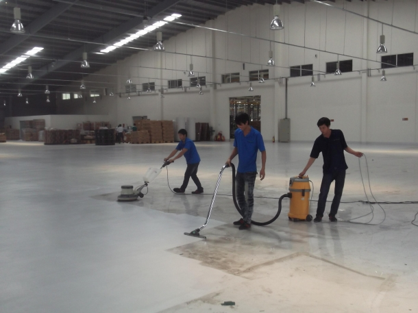 Hướng dẫn chà sàn bê tông