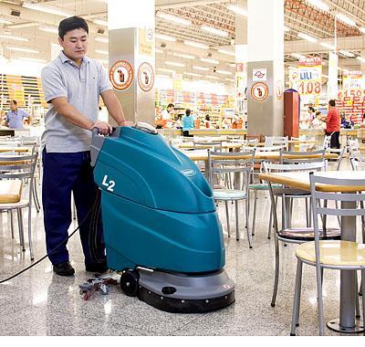 Những điều cần chú ý khi sử dụng máy chà sàn
