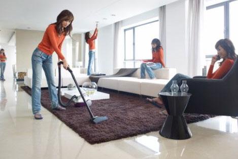 Quy trình giặt thảm len